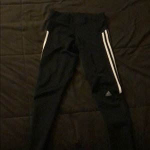 adidas Pants - Adidas black and white leggings